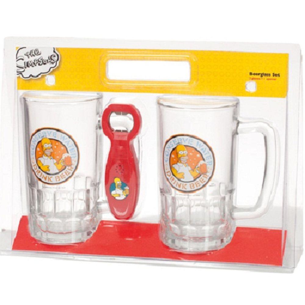 Verre à Bière Les Simpson
