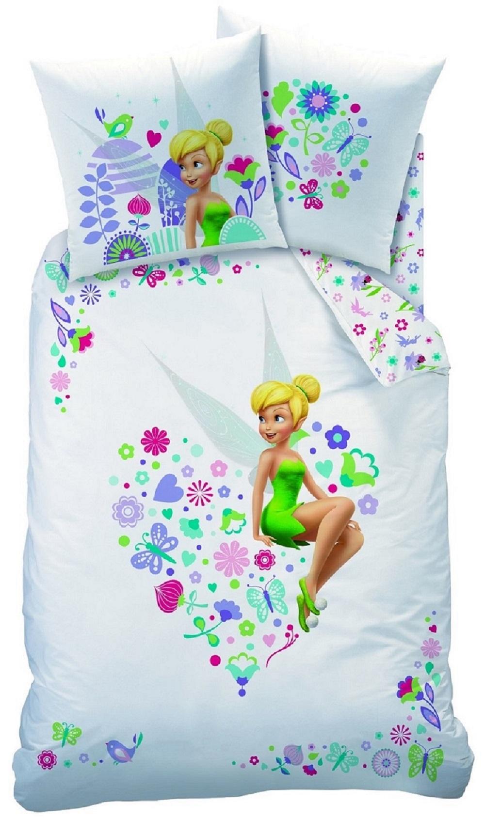 parure de lit f e clochettes disney fairies. Black Bedroom Furniture Sets. Home Design Ideas