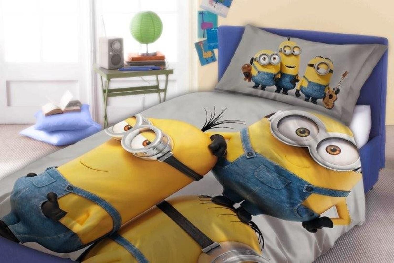 Parure de lit enfant minions | Fmota