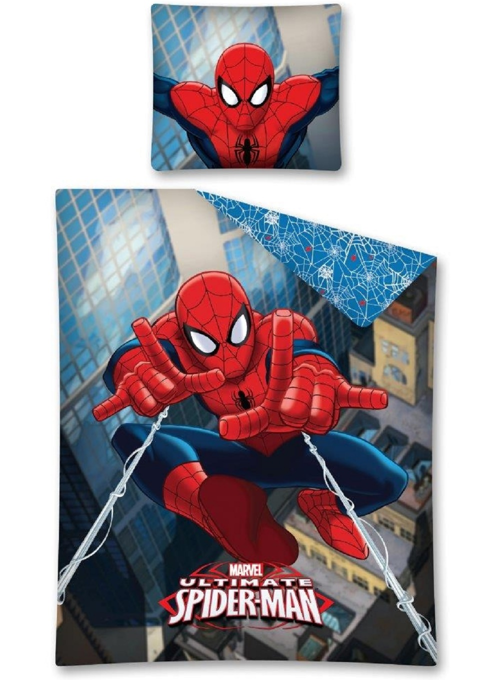 Parure de lit spiderman housse de couette spiderman for Housse couette spiderman