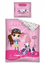 Parure de lit Littlest Pet Shop