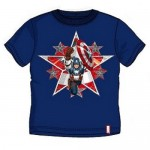 T-shirt Captain América