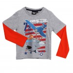 T-shirt Planes doubles manches