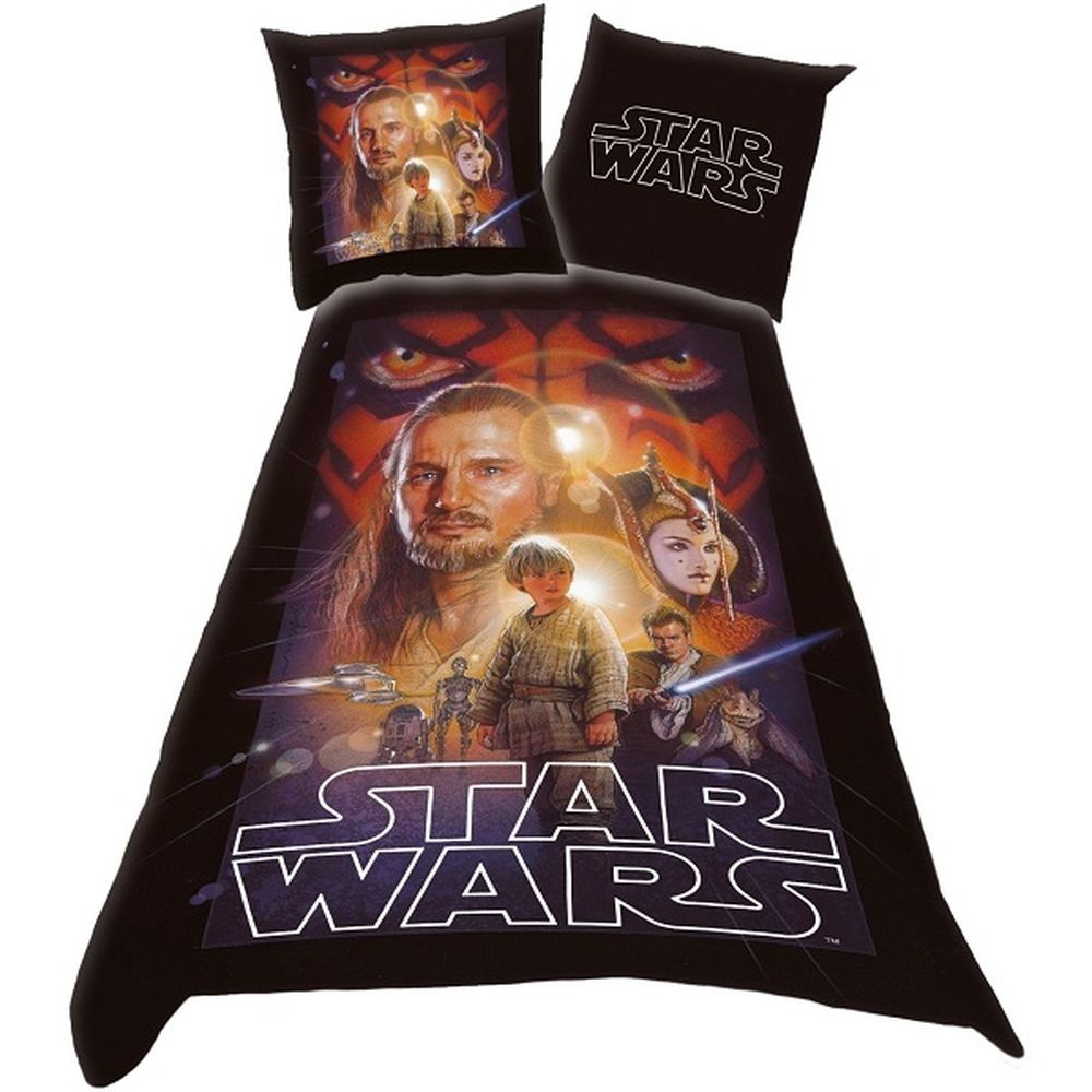 parure de lit star wars. Black Bedroom Furniture Sets. Home Design Ideas