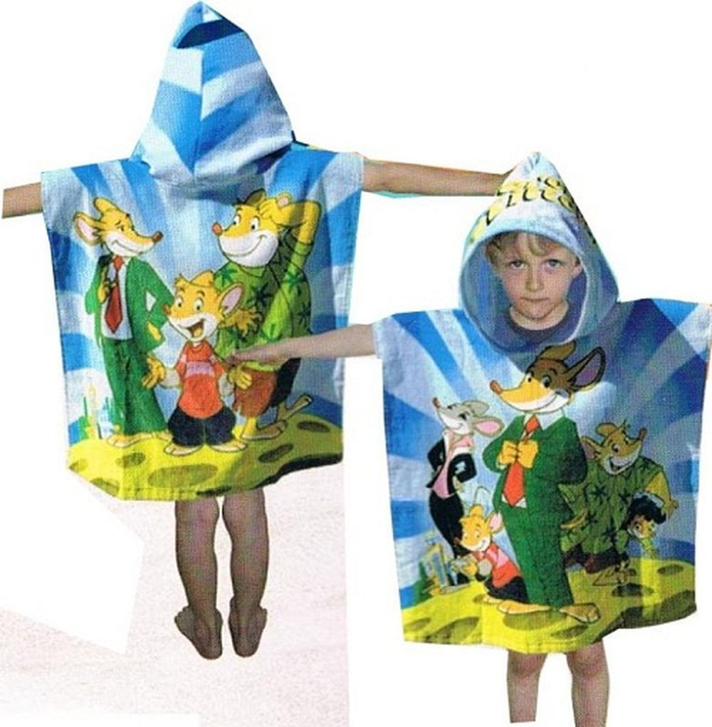 poncho de bain geronimo stilton. Black Bedroom Furniture Sets. Home Design Ideas
