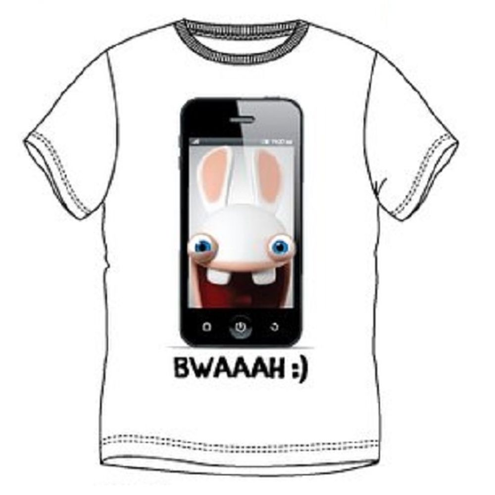 T shirt The Lapins crétins homme
