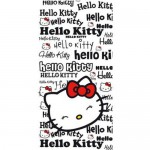 Serviette de bain Hello Kitty