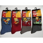 Chaussettes Bart The Simpson