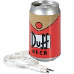 Simpsons haut-parleur Duff Beer