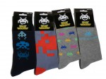 Chaussettes Space Invaders