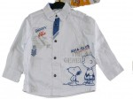 Chemise manches longues Snoopy