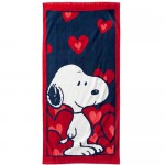 Serviette de bain Snoopy Love