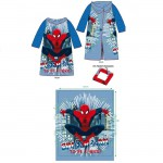 Robe de chambre plaid couverture Spiderman