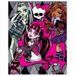 Plaid polaire Monster High