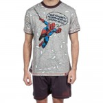 Pyjama short Spiderman